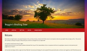 Reggie's Healing Tree Website